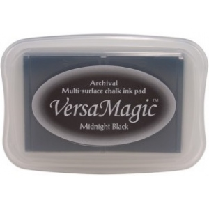 Tsukineko VersaMagic Pads: Midnight Black