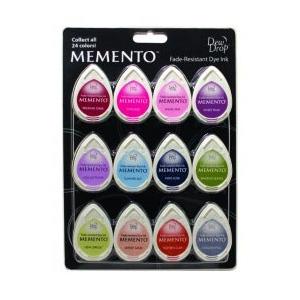 Tsukineko Memento Dew Drops: Sorbet Scoops, Pack of 12