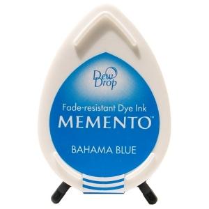 Tsukineko Memento Dew Drops: Bahama Blue