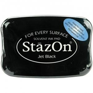 Tsukineko StazOn Pad: Jet Black