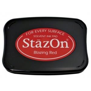 Tsukineko StazOn Pads: Blazing Red