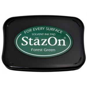 Tsukineko StazOn Pads: Forest Green