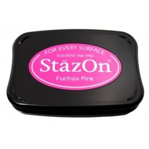 Tsukineko StazOn Pads: Fuchsia Pink