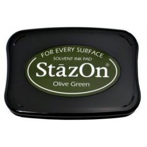 Tsukineko StazOn Pads: Olive