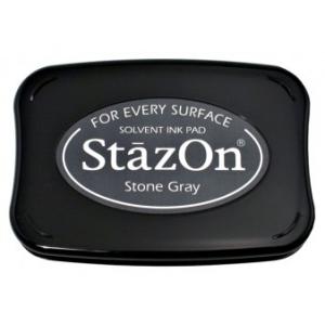 Tsukineko StazOn Pads: Stone Gray
