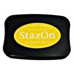 Tsukineko StazOn Pads: Sunflower Yellow