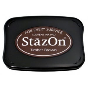 Tsukineko StazOn Pads: Timber Brown