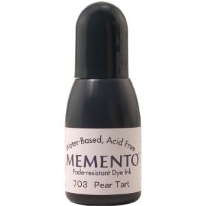 Tsukineko Memento Dye Reinkers: Pear Tart
