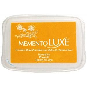 Tsukineko Memento Luxe Inkpad: Dandelion