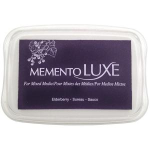 Tsukineko Memento Luxe Inkpad: Elderberry