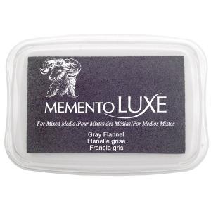 Tsukineko Memento Luxe Inkpad: Gray Flannel