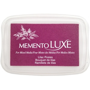 Tsukineko Memento Luxe Inkpad: Lilac Posies