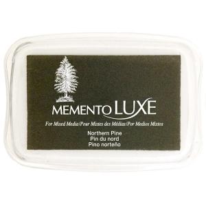 Tsukineko Memento Luxe Inkpad: Northern Pine