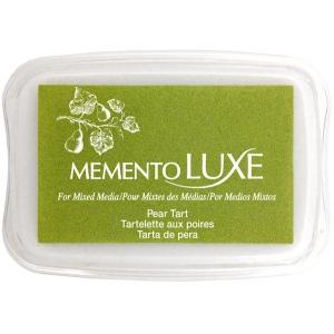 Tsukineko Memento Luxe Inkpad: Pear Tart