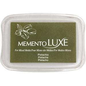 Tsukineko Memento Luxe Inkpad: Pistachio