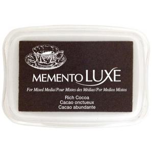 Tsukineko Memento Luxe Inkpad: Rich Cocoa