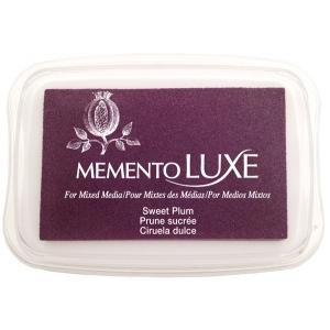 Tsukineko Memento Luxe Inkpad: Sweet Plum