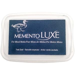 Tsukineko Memento Luxe Inkpad: Teal Zeal