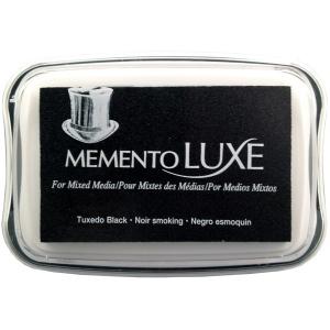 Tsukineko Memento Luxe Inkpad: Tuxedo Black