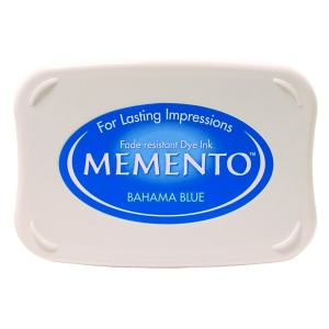 Tsukineko Memento Pads: Bahama Blue