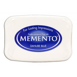Tsukineko Memento Pads: Danube Blue