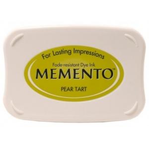 Tsukineko Memento Pads: Pear Tart
