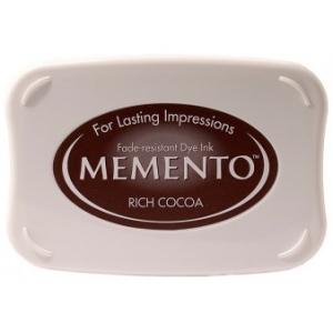 Tsukineko Memento Pads: Rich Cocoa