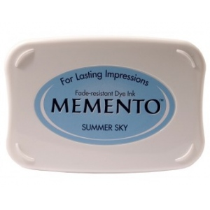 Tsukineko Memento Pads: Summer Sky