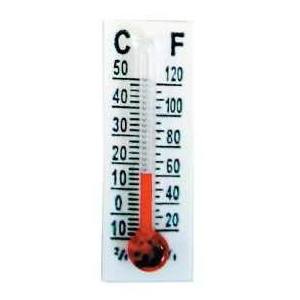 Stanislaus Imports, Inc. SML Thermometer: 60mm, Pack of 12