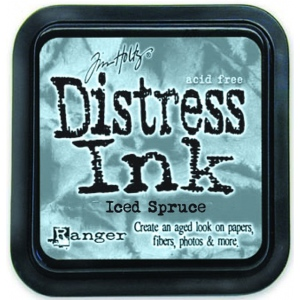 Ranger Distress Pads by Tim Holtz: Iced Spruce