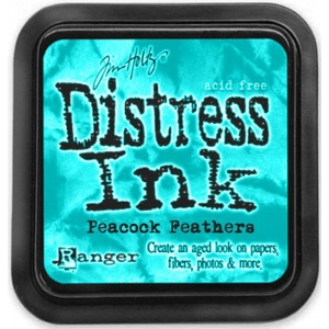 Ranger Distress Pads by Tim Holtz: Peacock Feathers