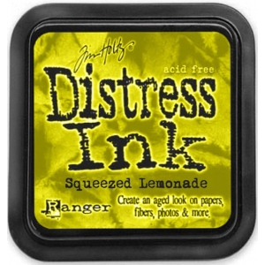 Ranger Distress Pads by Tim Holtz: Squeezed Lemonade