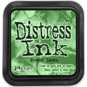 Ranger Distress Pads by Tim Holtz: Mowed Lawn