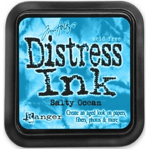 Ranger Distress Pads by Tim Holtz: Salty Ocean