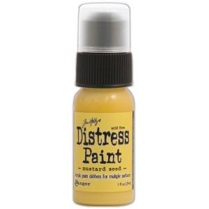 Ranger Tim Holtz Distress Paint: Mustard Seed