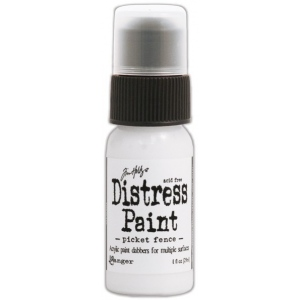 Ranger Tim Holtz Distress Paint: Picket Fence