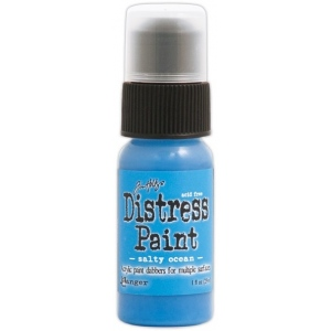 Ranger Tim Holtz Distress Paint: Salty Ocean