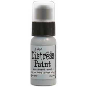 Ranger Tim Holtz Distress Paint: Weathered Wood