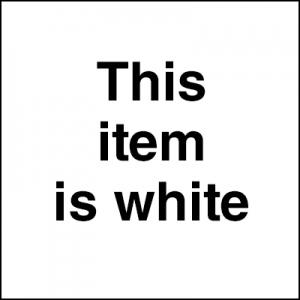 Golden® High Flow Acrylic Titanium White 1oz.; Color: White/Ivory; Format: Bottle; Size: 1 oz; Type: Acrylic; (model 0008549-1), price per each
