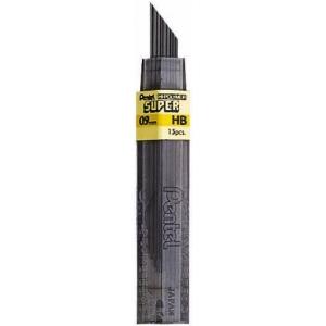 Pentel® Super Hi-Polymer® Super Lead .9mm 2H; Degree: 2H; Lead Color: Black/Gray; Lead Size: .7mm; Type: Lead; (model 50-9-2H/BX), price per box
