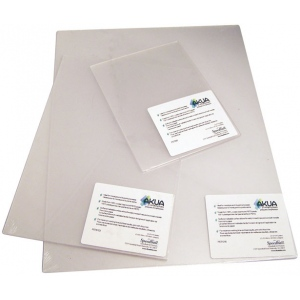 "Akua 12"" x 16"" Printmaking Plates 3-Pack; Material: Plastic; Size: 12"" x 16""; Type: Plates; (model PET1216), price per pack"