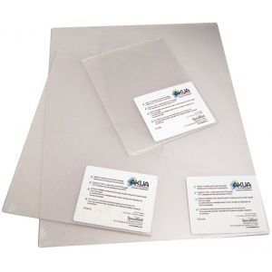 "Akua 6"" x 8"" Printmaking Plates 3-Pack; Material: Plastic; Size: 6"" x 8""; Type: Plates; (model PET683), price per pack"