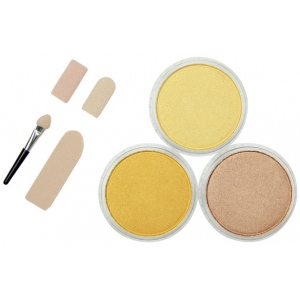PanPastel® Ultra Soft Artists' Painting Pastel Metallics I 3-Color Set: Metallic, Pan, Soft, (model PP30031), price per set