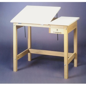 SMI Unfinished 30 x 42 Split-Top Table