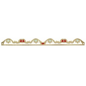 Sizzix Sizzlits Decorative Strip Die: Romantic Ruffle
