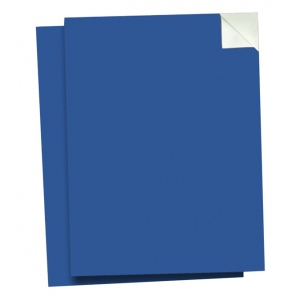 "Wallies® 9"" x 12"" Peel & Stick Chalkboard Sheets Blueprint Blue 2-Pack; Size: 9"" x 12""; Type: Chalkboard; (model WALL16005), price per pack"