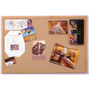 "Ghent® Wood Frame Traditional Cork Bulletin Board 2"" x 3""; Size: 24"" x 36""; Type: Cork Board; (model 1423-1), price per each"