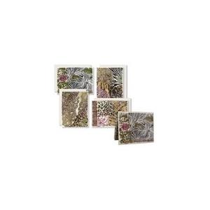 Karen Foster Design Flat Notecards: Modern Safari