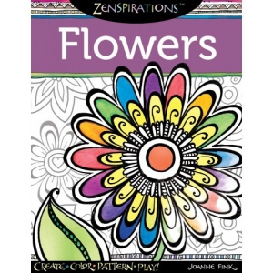 Design Originals Zenspirations Coloring Book: Flowers