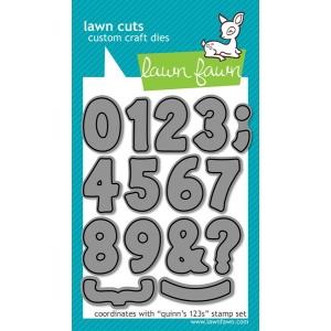 Lawn Fawn Lawn Cuts Quinn's 123s Dies